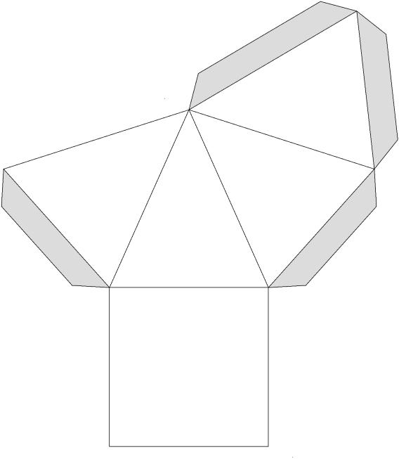 pyramide basteln my blog. Black Bedroom Furniture Sets. Home Design Ideas